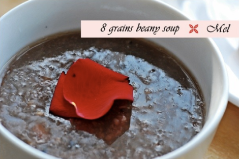 8 grains & beans soup
