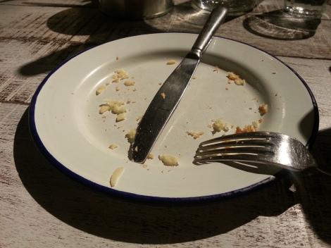 Ben's general food store - empty plate