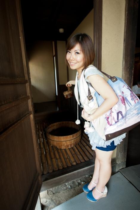 日本东京-农舍里面的细节