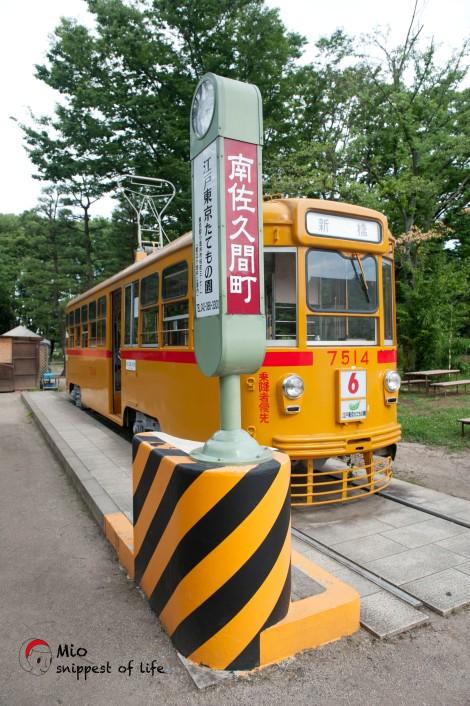 江戸東京たてもの園-小黄巴士