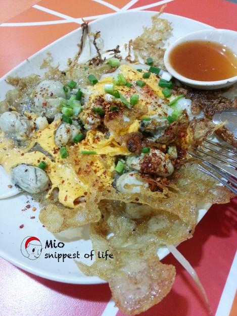 Platinum Mall's food court good taste - 蚝煎