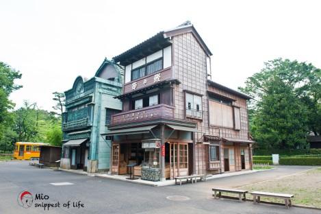 江戸東京たてもの園-商店街