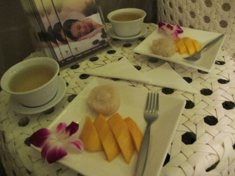 Let's Relax Spa - Mango sticky rice