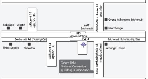 Map of Urban Retreat