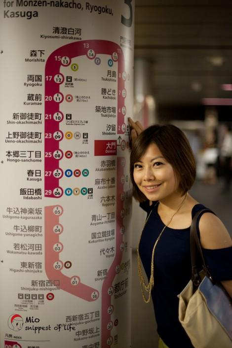 东京筑地-大门站出发!