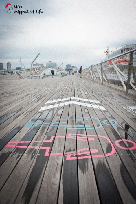横滨国际客轮大栈桥-地板图绘