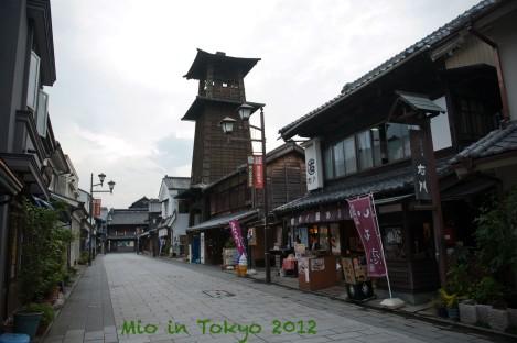 小江户川越的江户时代建筑物