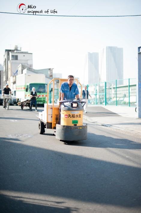 东京筑地-不知名筑地运输工具