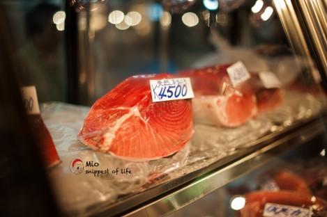东京筑地-鱼市场景象