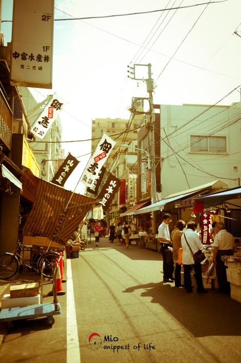 东京筑地 - 街景