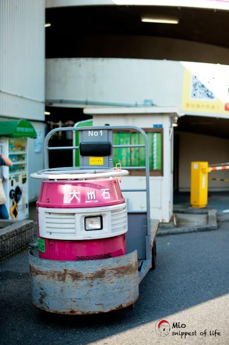 东京筑地-不知名运输工具