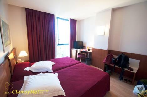 这种 standard double room 每晚 53.10欧元