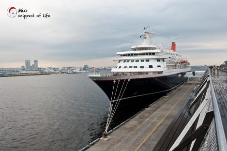 横滨国际客轮大栈桥-送行的地方