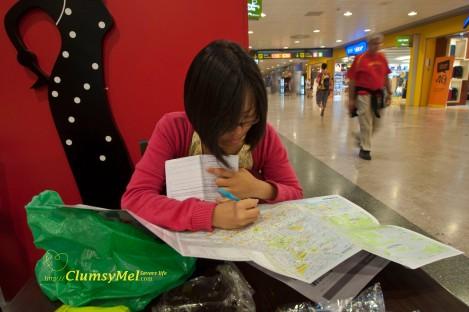 去到哪里都是当地才在 Tourist information center 取得地图再计划行程。