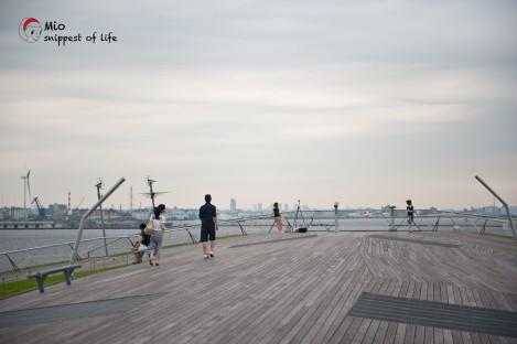 横滨国际客轮大栈桥-慢跑,拍拖的好去处