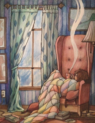 My dream book nook - the reading corner