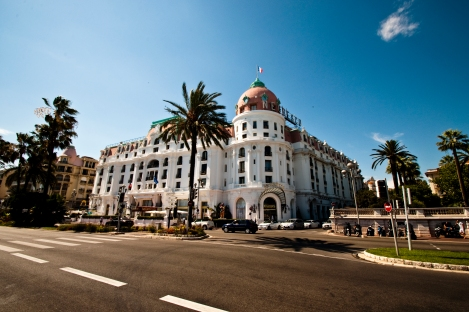Luxury hotel in Nice, France