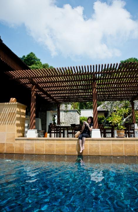 Pangkor Laut Resort - Pool nearby Spa village