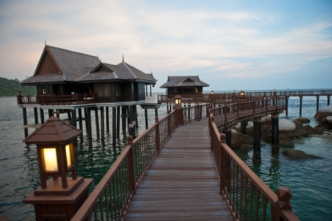 Pangkor Laut Resort - Water chalets