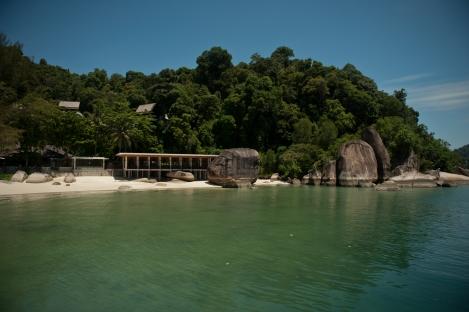 Pangkor Laut Resort's private island