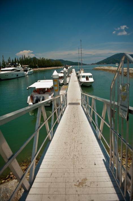 Pangkor jetty - Pangkor Laut Resort