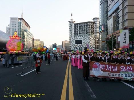 首爾一年一度神誕燈籠大遊行