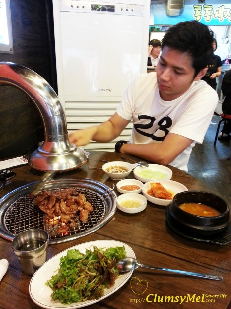 弘大附近的燒烤店