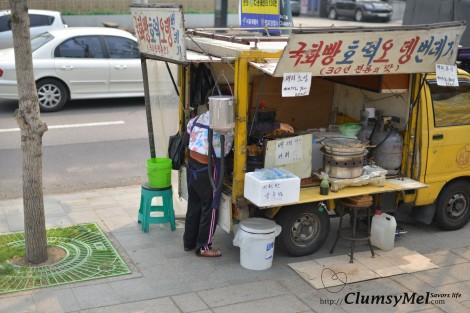 昌慶宮前的小吃攤