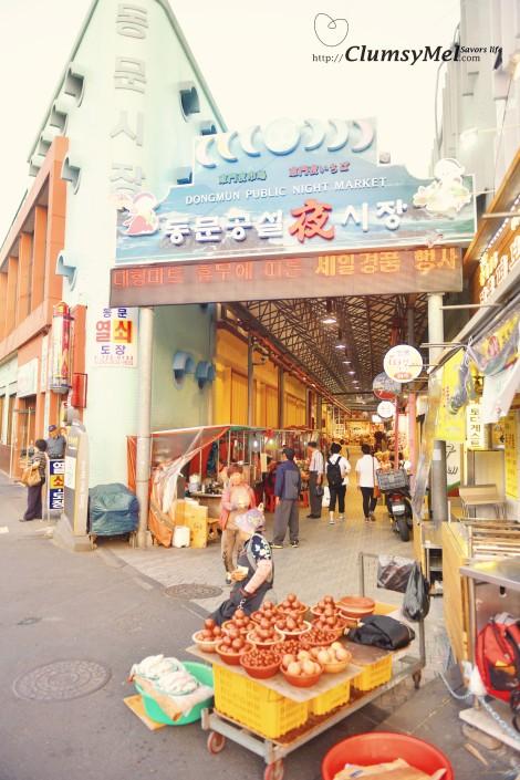 民宿附近的市場