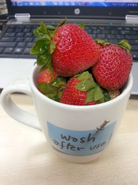 下午茶點心-紅鐺鐺的草莓子